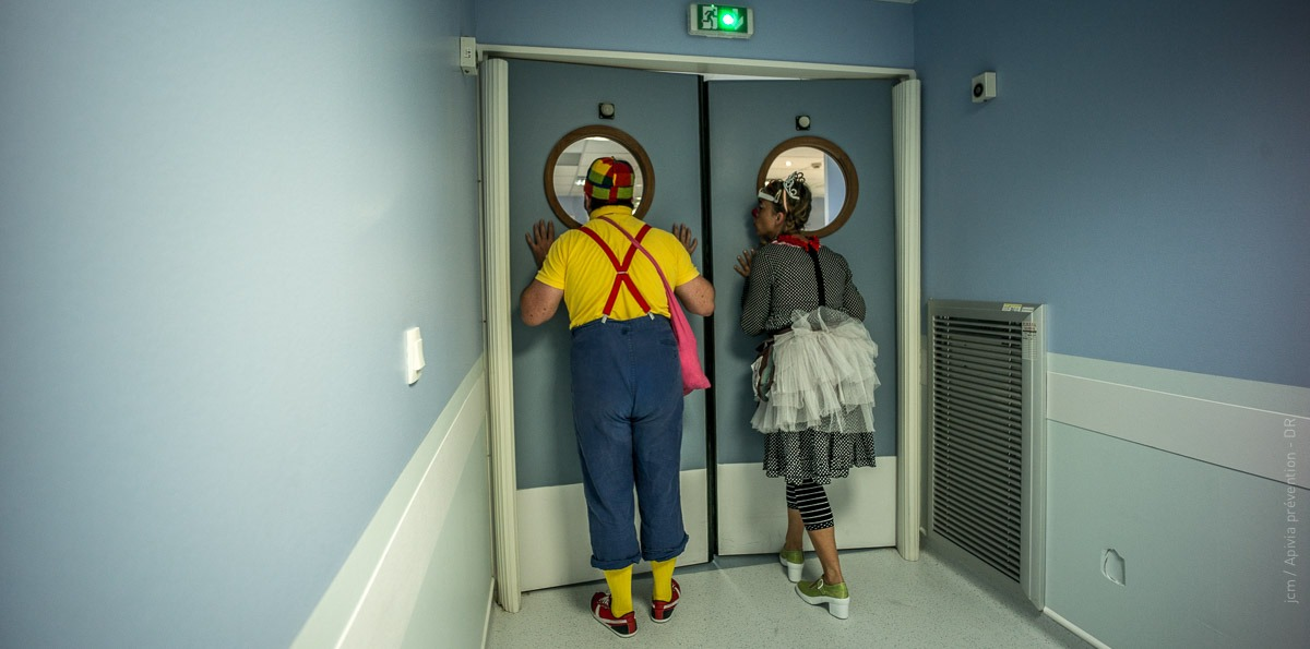 Des clowns à l'hôpital. Introduction